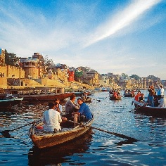 Guided Boat Ride Tour in Varanasi